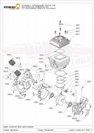 M025 Complete Full Set Series of Moster Gaskets and O-ring ( Qty Req 1)